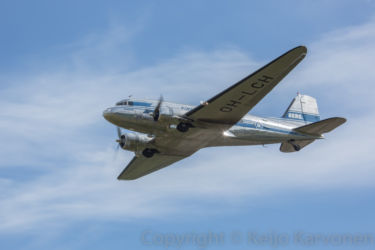 Finland International Airshow  16-17.8.2014, DC-3