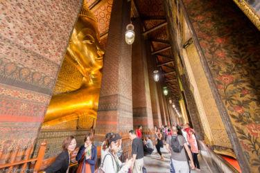 Wat Po -temppeli, Bangkok/Thaimaa
