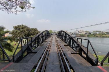 Kwai -joen silta, Kanchanaburi/Thaimaa