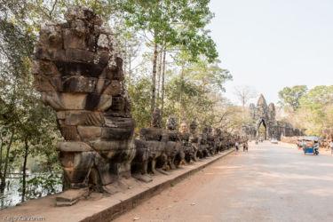 Eteläinen sisäänkäynti, Siem Reap/Kamputsea